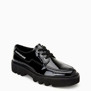 Calvin Klein Patent Leather Lace-Up Shoe